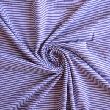 Bavlněný el. úplet – fialový