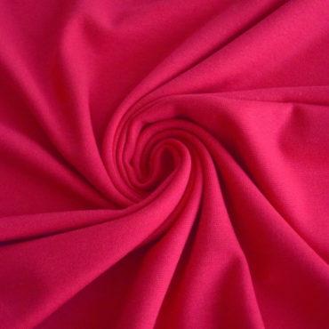 Finerib 50% Ba, 50% Modal – červený