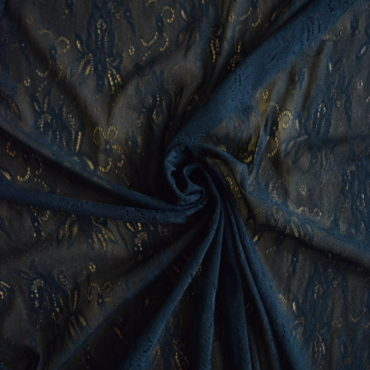 Krajka elastická – černá