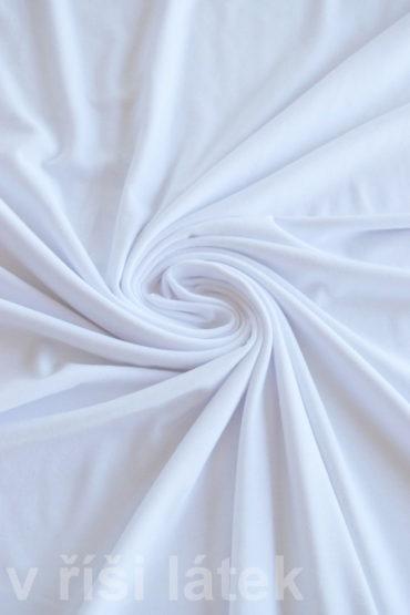 Micromodal elastický – bílý