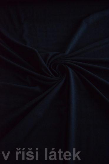 Micromodal + Bavlna elastický – černý 70 cm