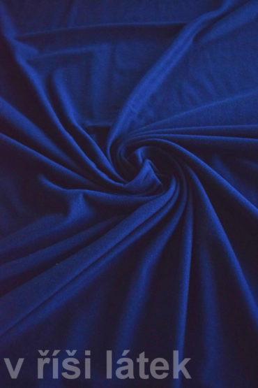 Micromodal elastický – tmavě modrý (navy) 80 cm