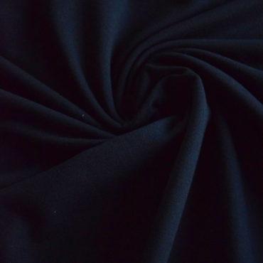 French terry Micromodal elastický – černý