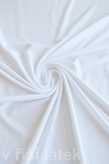 Jednolíc BAMBUS vis. elastický – bílý