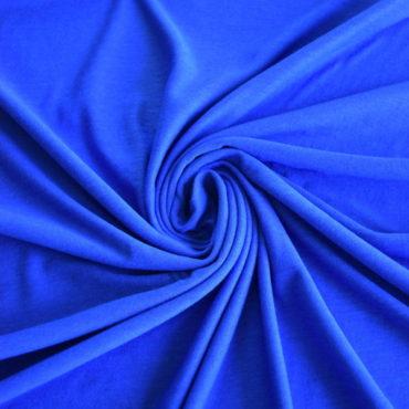 Jednolíc 50% Ba, 50% Modal – královsky modrý