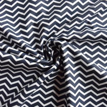 Bavlněné plátno extra jemné – chevron černý