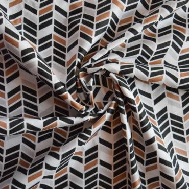 Bavlněné plátno extra jemné – Art chevron