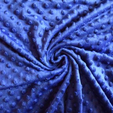 Minky královsky modré