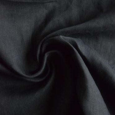 Len 100% jemný – černý/tmavě modrý