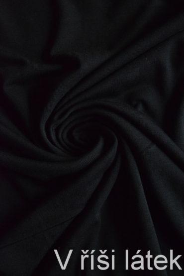 Micromodal elastický – černý – silnější