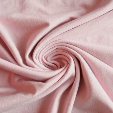 Micromodal + bavlna elastický – pudrově růžový