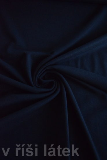 Finerib elastický modal + bavlna – černý