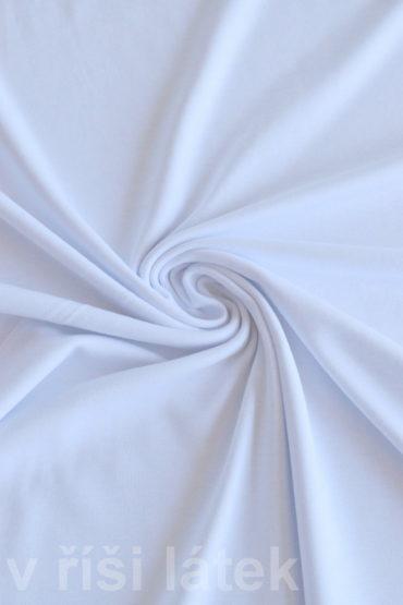 Finerib elastický modal + bavlna – bílý