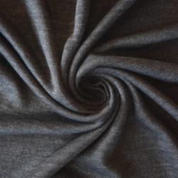 85254c80db12 Jednolícní 100% lněná pletenina – melír antracit
