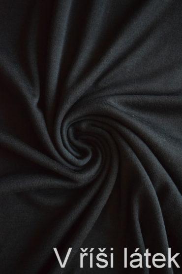 Oboulícní 100% MERINO vlna – černá