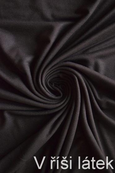 Jednolíc BAMBUS vis. elastický – hnědý
