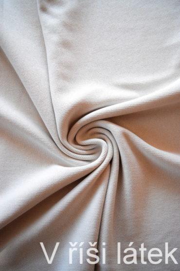 Bavlněná – svetrovina – sv. šedá 130 cm