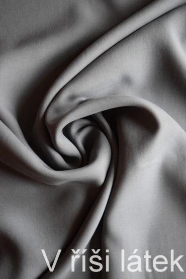 Kepr 100% Tencel tkanina – šedá