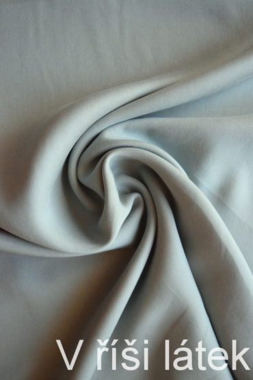 Kepr 100% Tencel tkanina – šedo – zelenkavá
